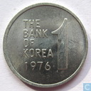 South Korea 1 won 1976