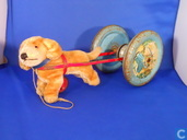 Dogcart bell toy