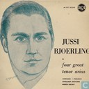 Jussi Bjoerling in Four Great Tenor Arias