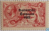 Briefmarken - Irland - Aufdruck