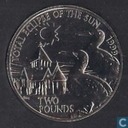 "Alderney 2 pounds 1999 ""Total Eclipse of the Sun"""