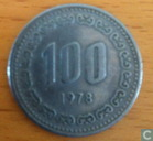 Zuid-Korea 100 won 1978