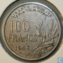 France 100 francs 1958 (without B - wing)
