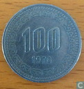 South Korea 100 won 1970