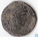Roman Empire Aquileia AE3 Reduced Follis of the Emperor Constans 337-340