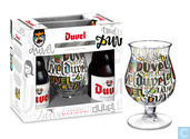 Alcools - Bière - Duvel Art Collection geschenkset