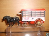 Large Horse drawn Van 'Coca-Cola'