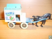 Horse drawn Milk Float 'Chambourcy'