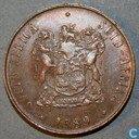 South Africa 2 cents 1989