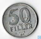 Hungary 50 fillér 1975
