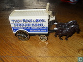 Large Horse Drawn Van 'Thomas Ring & Sons'