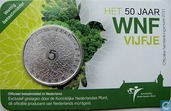 "Netherlands 5 euro 2011 (coincard) ""50 years World Wildlife Fund"""