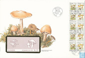 Postage Stamps - Norway - Mushrooms