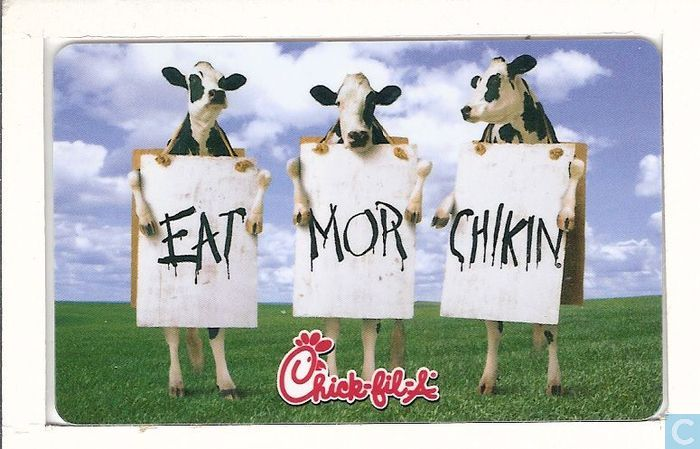 chick fil a eat mor chikin except on Lifestyle what you should order at chick-fil-a according to your zodiac sign the stars are aligning, and they're telling you to eat mor chikin.