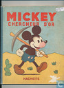 Mickey chercheur d'or