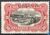 """Landscapes and various subjects Belgian Congo in 1915, marked Urundi \""""type Grysolle\"""""""