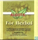 For Herbal
