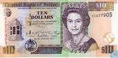 BELIZE 10 Dollars