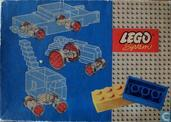 Lego 314-2 Large & Small Wheels & Turn- Table