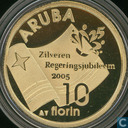 "Aruba 10florin 2005 ""Silver Jubilee Government"""