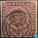 Timbres-poste - Danemark - FIRE R.B.S.