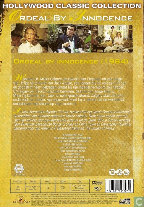 Ordeal By Innocence - DVD - Catawiki
