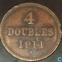 Guernsey 4 doubles 1914