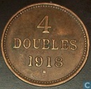 Guernsey 4 doubles 1918