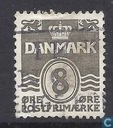Postage Stamps - Denmark - Golf'-type figure '