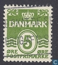 Timbres-poste - Danemark - Golf'-la figure de type '