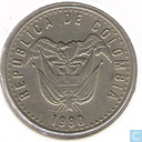 Colombia 50 pesos (66 points in circle)