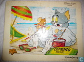 Tom en Jerry puzzel