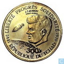 "Chad 300 francs 1970 ""Kennedy"""
