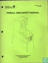 Pinball 2000 Safety Manual 16-10878