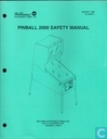 Pinball 2000 Safety Manual 16-10878.1
