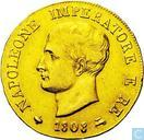 Kingdom Italy 40 lire 1808