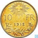 Switzerland 10 francs 1912