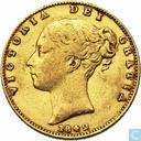United Kingdom 1 sovereign 1842