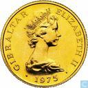 Gibraltar 25 pounds 1975