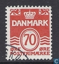 Timbres-poste - Danemark - Notation « golf »-type