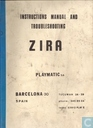 Playmatic Zira Instructions Manual and Troubleshooting