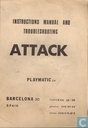 Playmatic Attack Instructions Manual and Troubleshooting