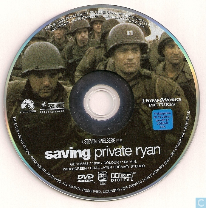 saving private ryan dvd catawiki