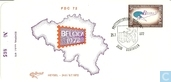 Stamp exhibition BELGICA ' 72