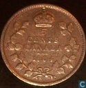 Canada 5 cents 1904