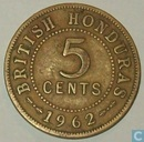 British Honduras 5 cents 1962