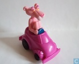 Pink Panther in car
