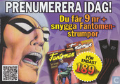 Fantomen abonnement flyer