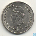 French Polynesia 20 franc 1977