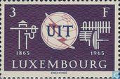 Postage Stamps - Luxembourg - 100 years of ITU